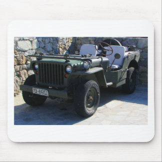 Classic Willy's Jeep. Mouse Pad