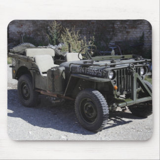 Classic Willys Jeep Mouse Pad