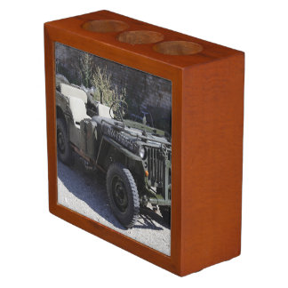 Classic Willys Jeep Pencil/Pen Holder