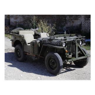 Classic Willys Jeep Postcard