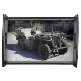 Classic Willys Jeep Serving Tray