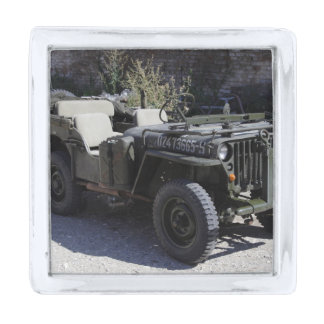 Classic Willys Jeep Silver Finish Lapel Pin