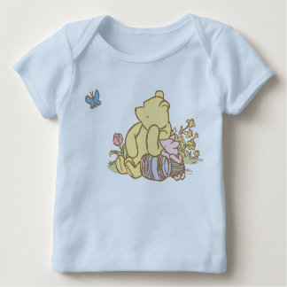 Classic Winnie the Pooh and Piglet 1 Baby T-Shirt