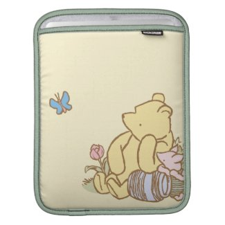 Classic Winnie the Pooh and Piglet 1 iPad Sleeve