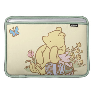 Classic Winnie the Pooh and Piglet 1 MacBook Sleeve