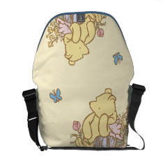 Classic Winnie The Pooh And Piglet 1 Messenger Bag at Zazzle