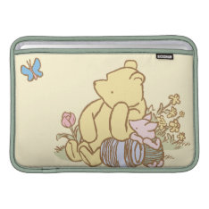 Classic Winnie The Pooh And Piglet 1 Sleeve For Macbook Air at Zazzle