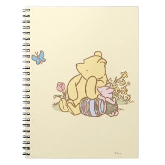 Classic Winnie the Pooh and Piglet 1 Spiral Notebook