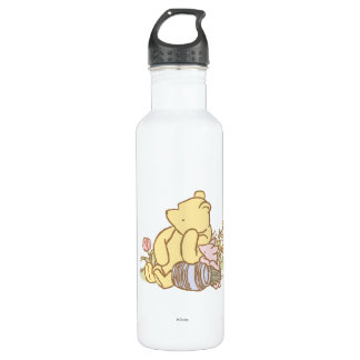 Classic Winnie the Pooh and Piglet 1 Stainless Steel Water Bottle