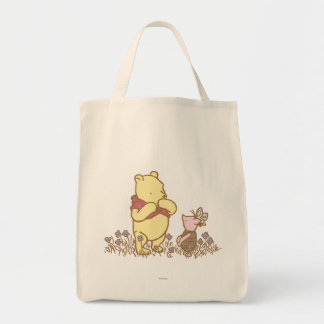 Classic Winnie the Pooh and Piglet 3 Tote Bag