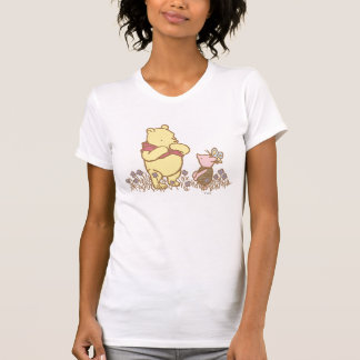 Classic Winnie the Pooh and Piglet 3 T Shirts