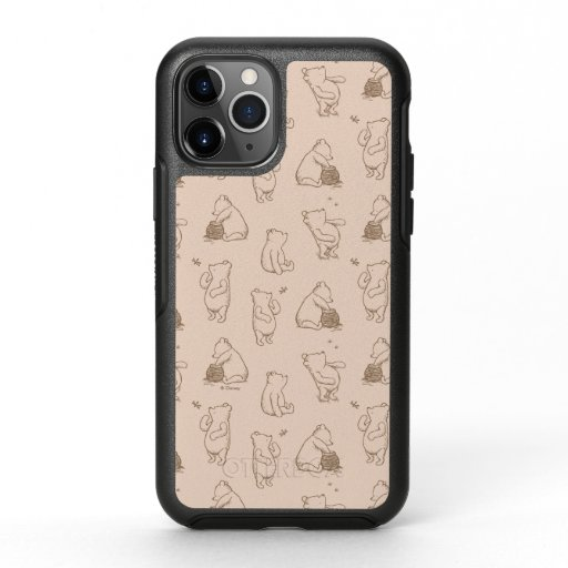 Classic Winnie the Pooh Pattern OtterBox Symmetry iPhone 11 Pro Case