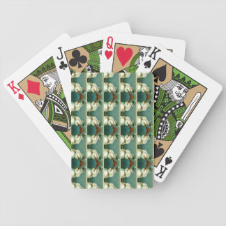 Classic Winter Snowman Bicycle® Playing Card Bicycle Playing Cards