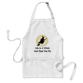 Classic Witch Saying Adult Apron