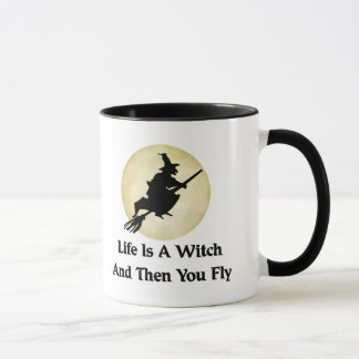 Classic Witch Saying Mug
