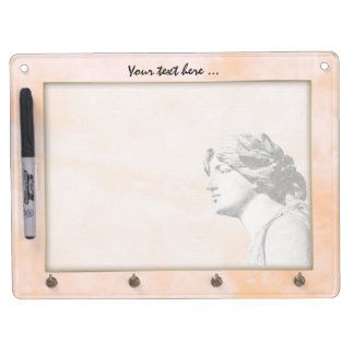 Classic Woman Dry Erase Board With Keychain Holder