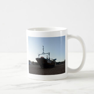 Classic Wooden Fishing Boat Coffee Mug