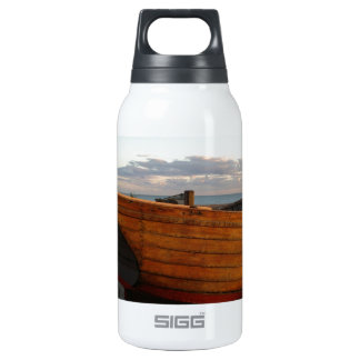 Classic Wooden Fishing Boats Insulated Water Bottle