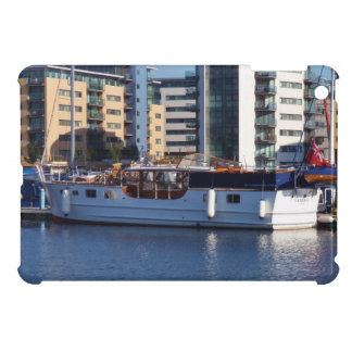 Classic Wooden Motor Boat Cover For The iPad Mini