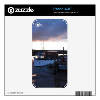 Classic Wooden River Cruiser iPhone 4 Decal