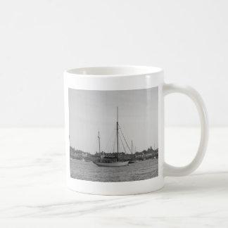 Classic Wooden Yacht Coffee Mug