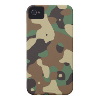 Classic Woodland Pattern Camo iPhone 4 Cover