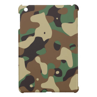 Classic Woodland Pattern Camo Case For The iPad Mini
