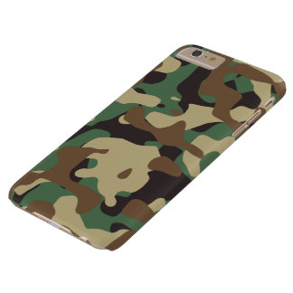 Classic Woodland Pattern Camo iPhone 6 Plus Case
