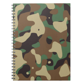 Classic Woodland Pattern Camo Notebook