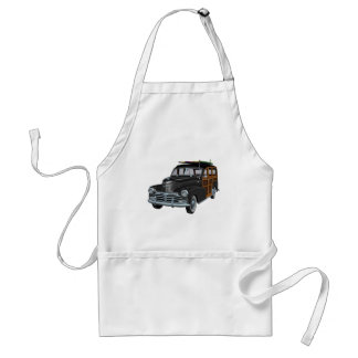 Classic Woody in Black Adult Apron