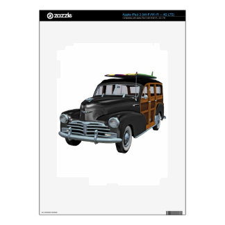 Classic Woody in Black Skin For iPad 3