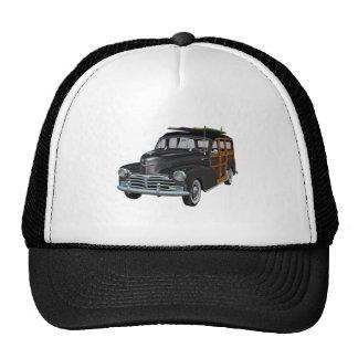 Classic Woody in Black Trucker Hat