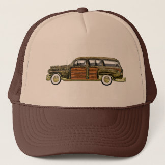 Classic Woody Station wagon Trucker Hat