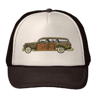 Classic Woody Station wagon Trucker Hat