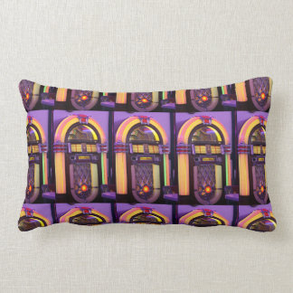 Classic Wurlitzer Jukebox Lumbar Pillow