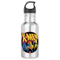 Classic X-Men | Beast, Jubilee, & Wolverine Icon Stainless Steel Water Bottle