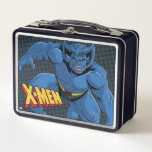 Classic X-Men   Beast Three-Point Landing Metal Lunch Box