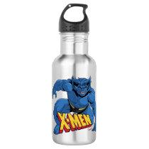 Classic X-Men   Beast Three-Point Landing Stainless Steel Water Bottle