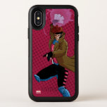 Classic X-Men   Gambit Throwing Playing Cards OtterBox Symmetry iPhone XS Case