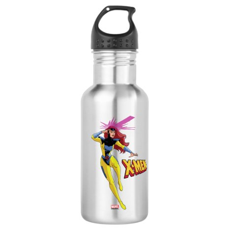 Classic X-Men | Jean Grey Emitting Psychic Energy Stainless Steel Water Bottle
