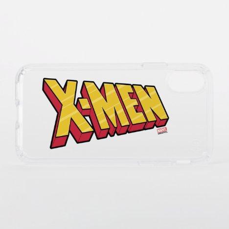 Classic X-Men   Red & Gold X-Men Logo Speck iPhone X Case