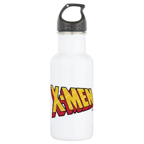 Classic X-Men | Red & Gold X-Men Logo Stainless Steel Water Bottle