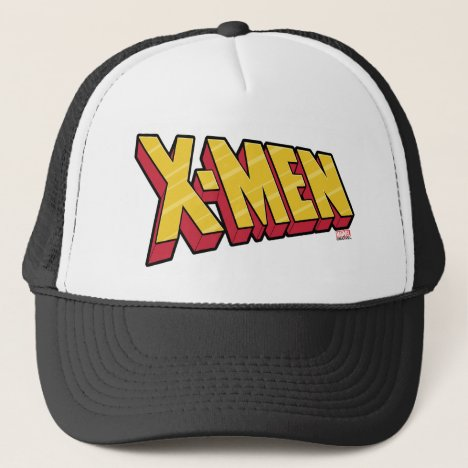 Classic X-Men | Red & Gold X-Men Logo Trucker Hat