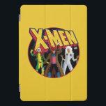 "Classic X-Men | Rogue, Gambit, & Storm Icon iPad Pro Cover<br><div class=""desc"">Simplified character art of Rogue,  Gambit,  and Storm under the X-Men X icon.</div>"
