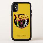 Classic X-Men   Rogue, Gambit, & Storm Icon OtterBox Symmetry iPhone X Case