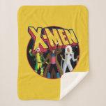 Classic X-Men   Rogue, Gambit, & Storm Icon Sherpa Blanket