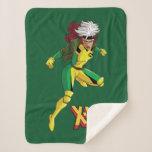 Classic X-Men   Rogue Ready For Battle Sherpa Blanket