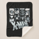 Classic X-Men   Silver Team Roster Sherpa Blanket