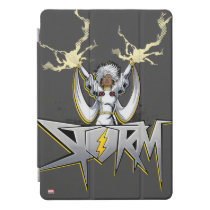 Classic X-Men | Storm Lightning Name Badge iPad Pro Cover