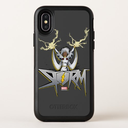 Classic X-Men | Storm Lightning Name Badge Phone Case